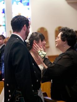Lehigh Valley Wedding Photographer Armen Elliott in Easton, PA St Anthony's Church