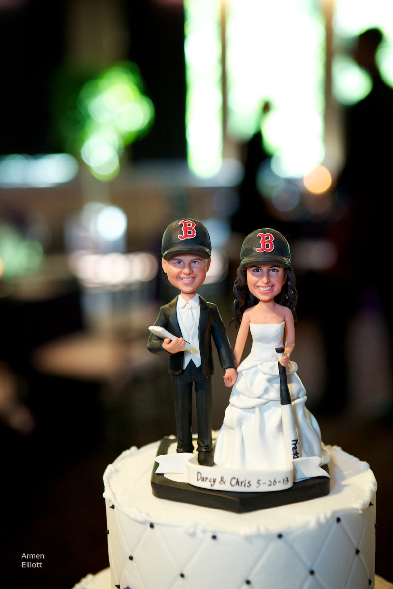 Boston-themed wedding