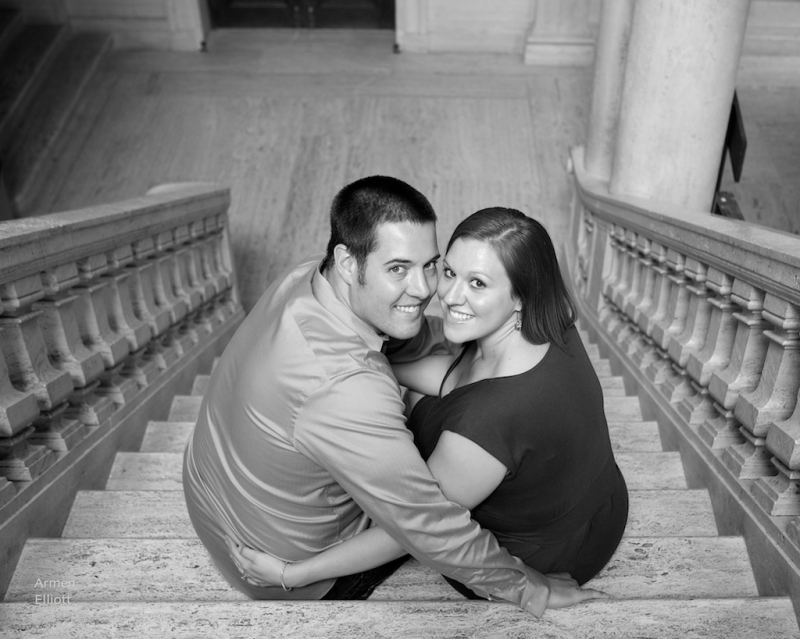 Engagement photo session in Easton, PA by Armen Elliott Photography