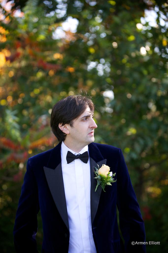 Armen Elliott Lehigh Valley Wedding Autumn Tuxedo Trend