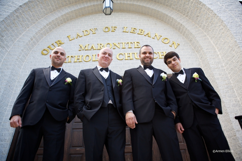 Our Lady of Lebanon Wedding