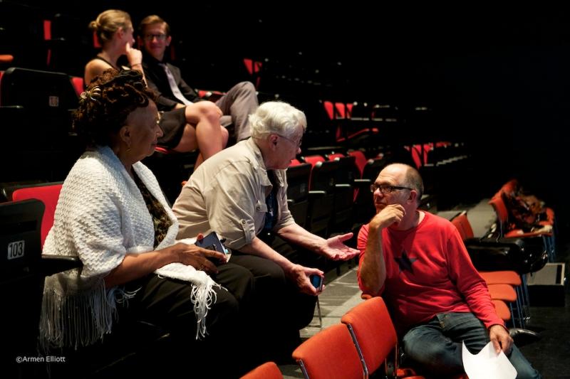 Pauline Oliveros and Steven Schick, Lincoln Center Mostly Mozart Festival 2013