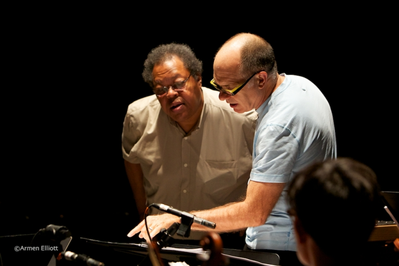 George Lewis, Steven Schick at Lincoln Center Mostly Mozart Festival 2013