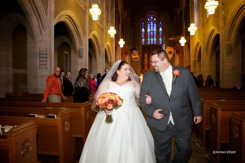 Muhlenberg College wedding by Armen Elliott Photography