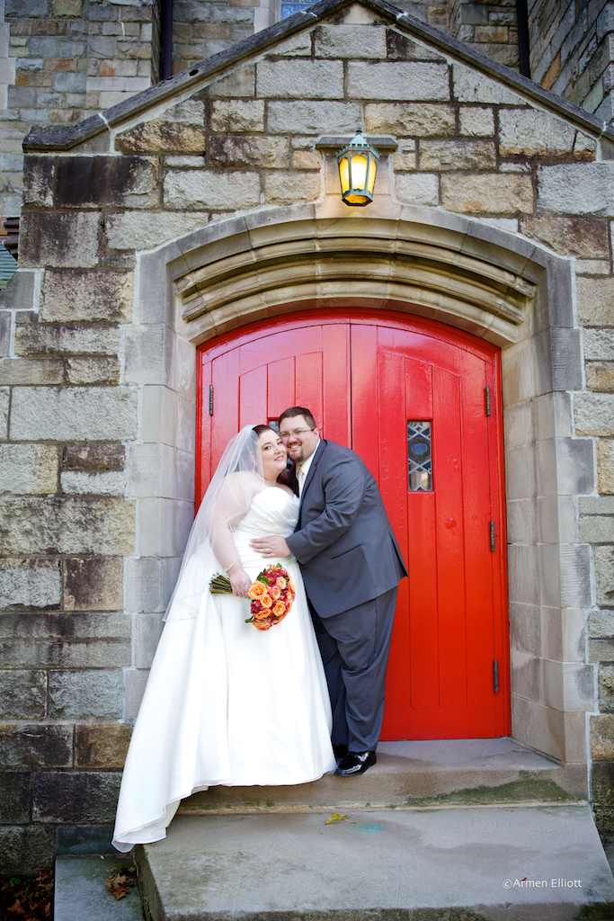 Wedding at Egner Chapel by Armen Elliott