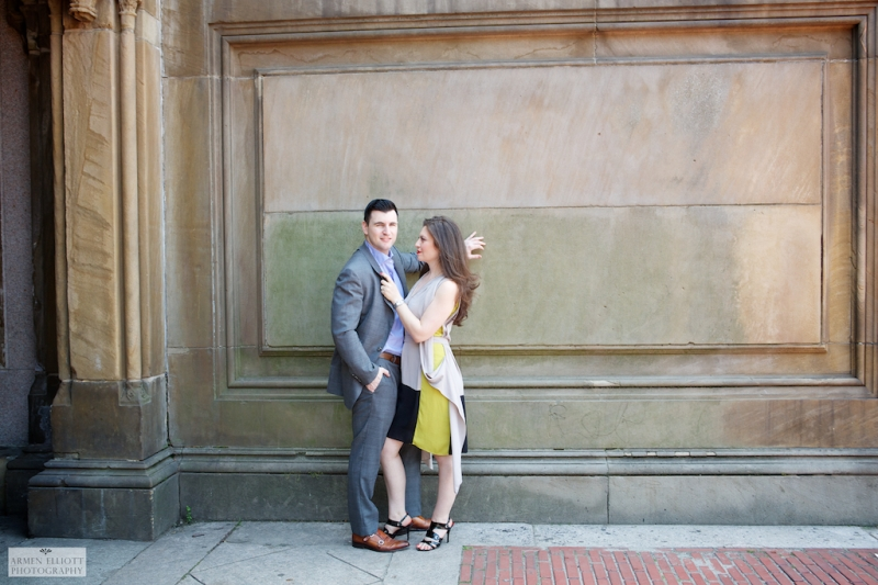Central Park engagement session by Armen Elliott