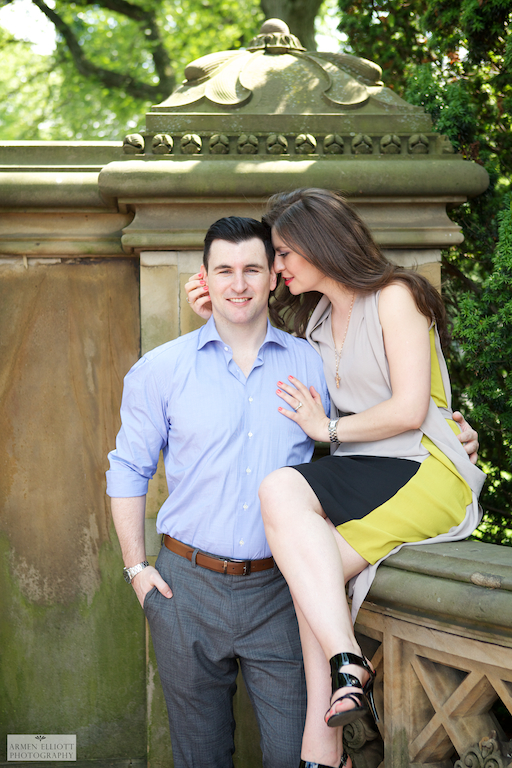 Lehigh Valley wedding photographer Armen Elliott in Central Park