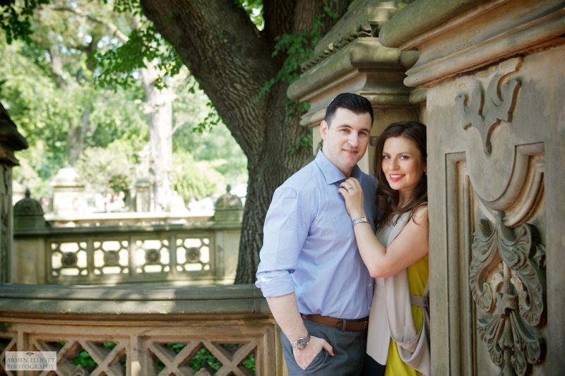 Armen Elliott Photography Central Park engagment