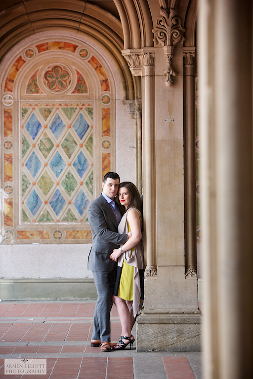 Central Park engagement session by Armen Elliott Photography