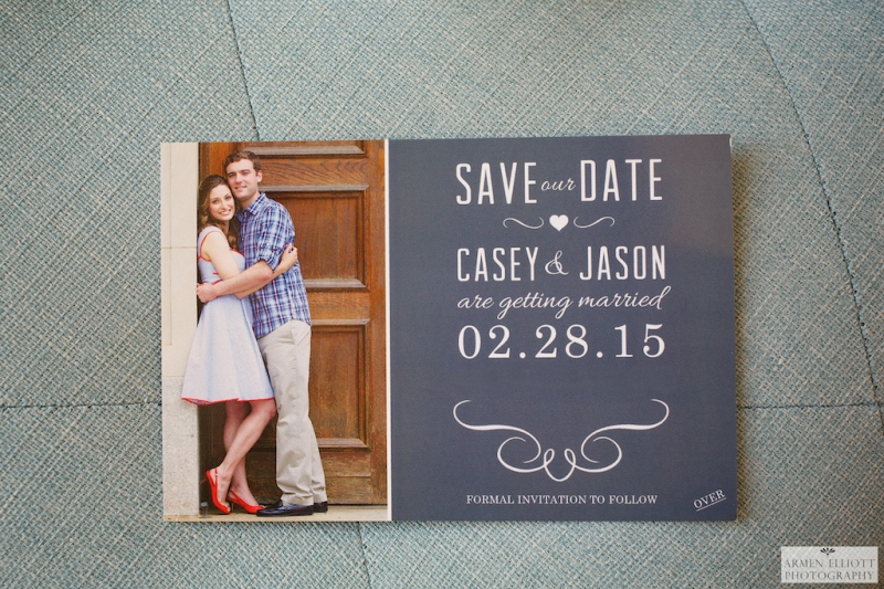Save the Date photo by Armen Elliott Photography