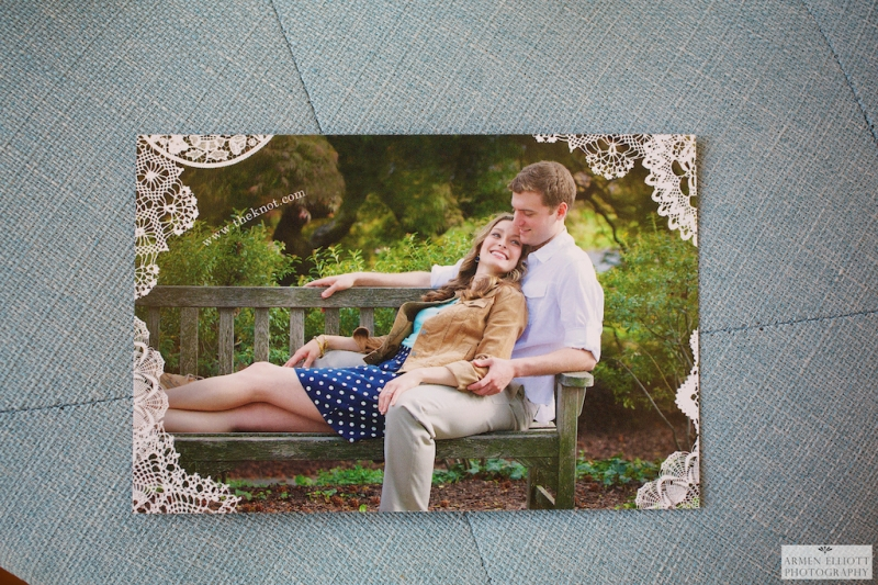 Save the date cards by Armen Elliott Photography