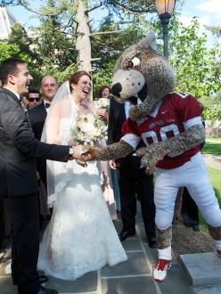 Lafayette College wedding in Easton, PA
