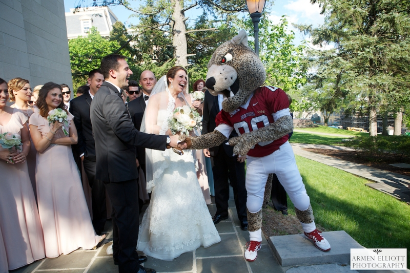 Lafayette College wedding in Easton, PA