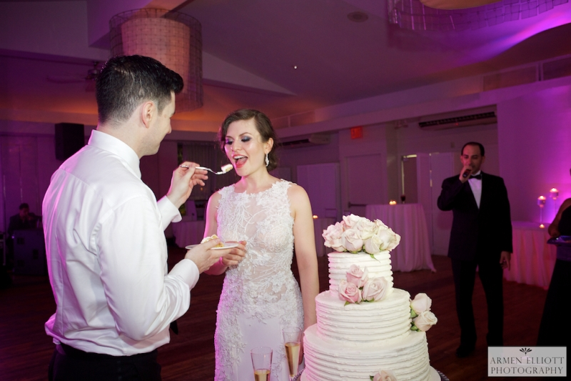 Armenian-vartan-Cathedral-nyc-wedding-reception-cake-cutting-battery-gardens-reception
