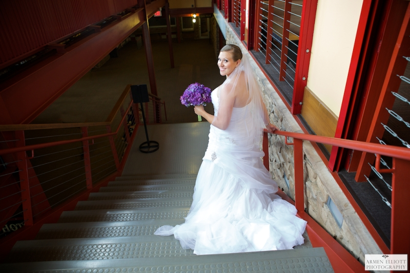 Wedding photo of Bride at Bear Creek Resort by Armen Elliott Photography