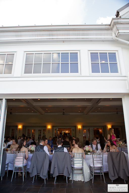 Wedding reception photo at Lehigh Country Club by Armen Elliott Photography