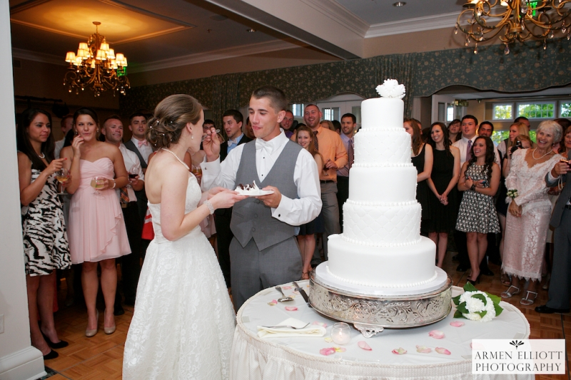 Wedding photo at Lehigh Country Club by Armen Elliott Photography