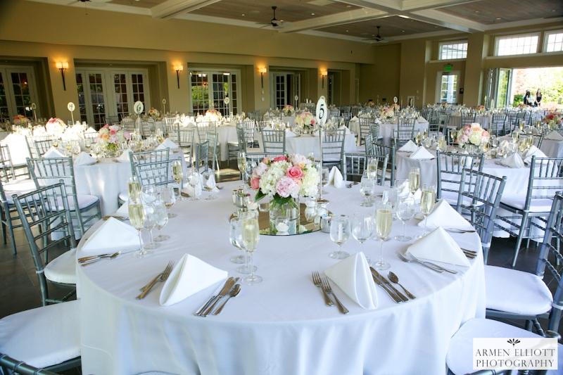 Wedding reception photo at Lehigh Country Club  by Armen Elliott Photography