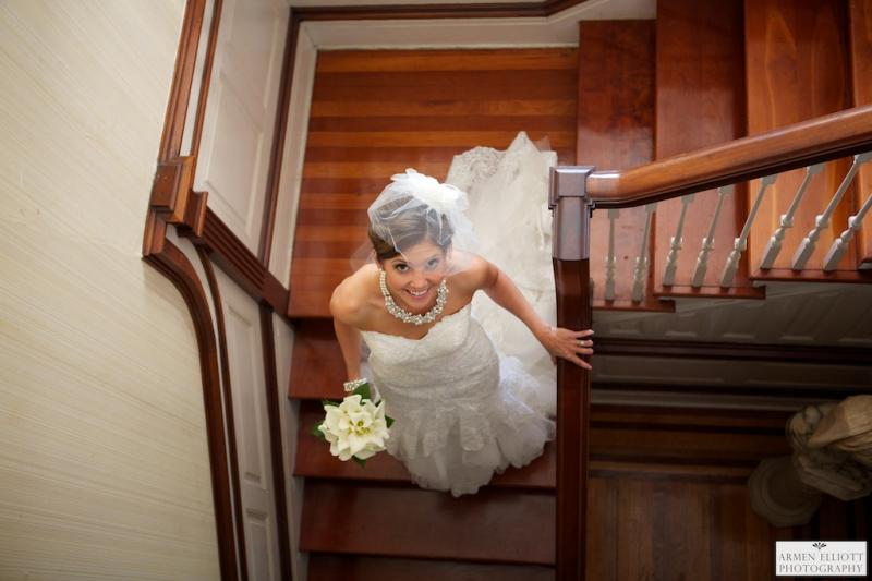 Bridal Portrait in Easton by Armen Elliott