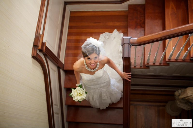 Bridal Portrait in Easton by Armen Elliott