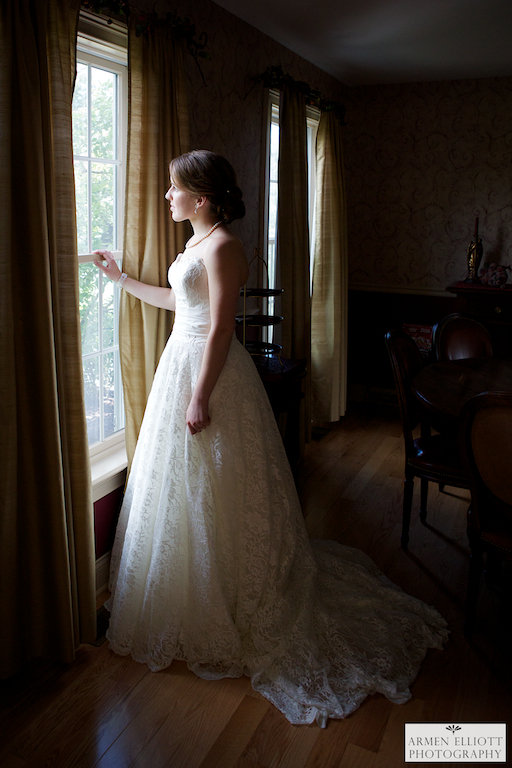 Lehigh Valley wedding photo of Bride by Armen Elliott