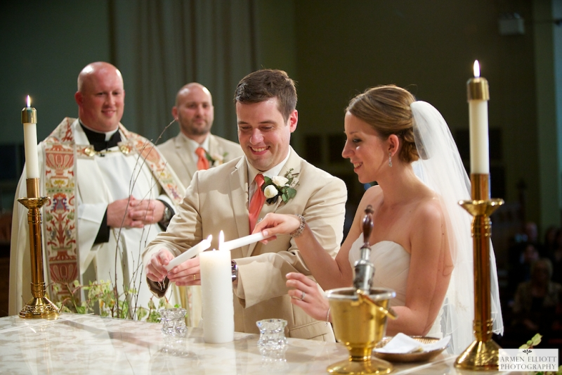 Lehigh University wedding photo at Packer Chapel by Armen Elliott Photography