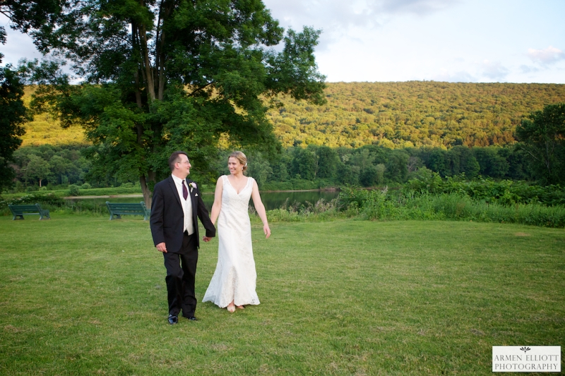 Wedding photo at Shawnee Inn and Golf Resort