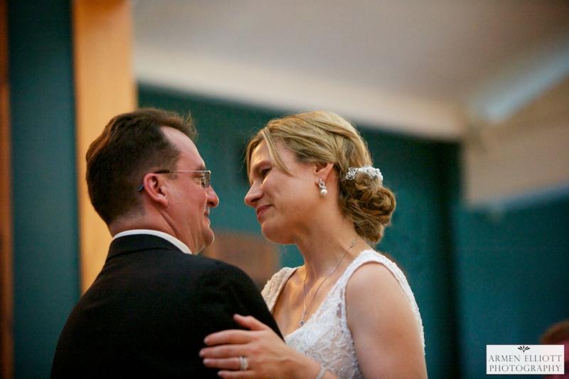 Wedding photo at Shawnee Inn and Golf resort by Armen Elliott Photography
