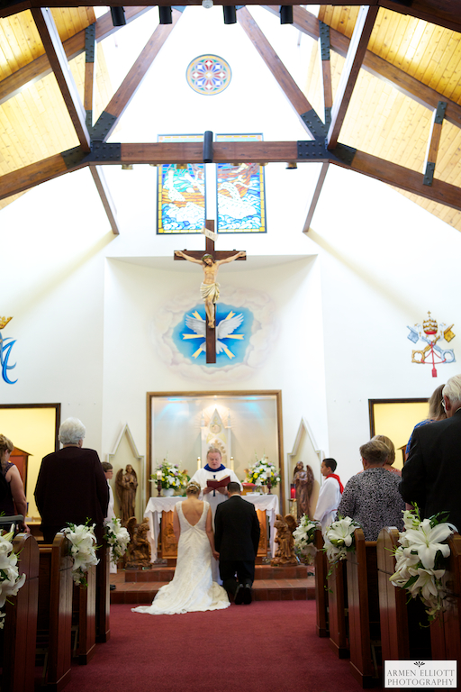 Wedding at St Peter the Fisherman Church