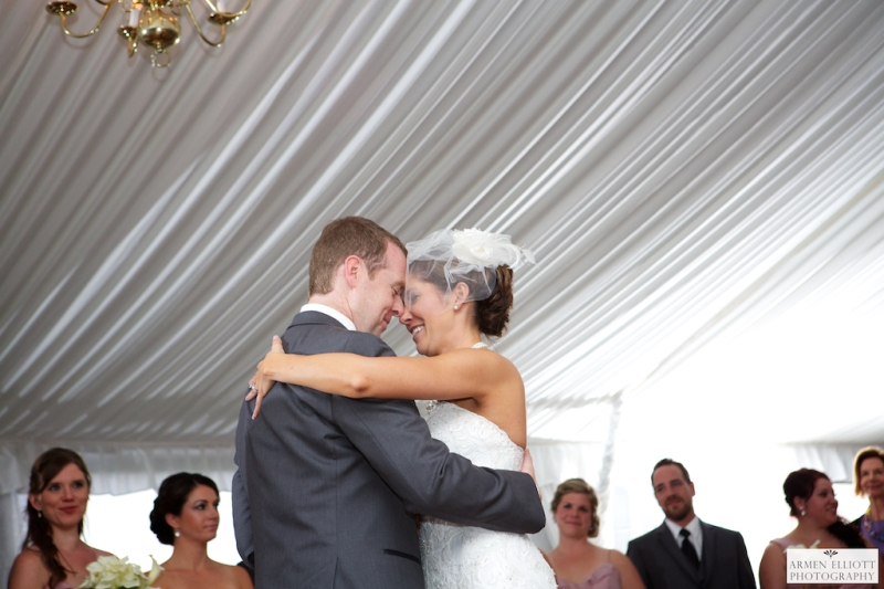 First dance at The Club at Morgan Hill by Armen Elliott