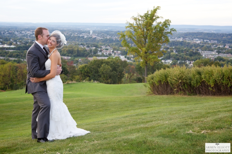 Wedding photo at The Club at Morgan Hill-Armen Elliott Photography