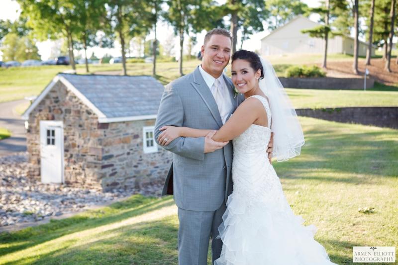 Wedding photo at La Massaria Bella Vista by Armen Elliott