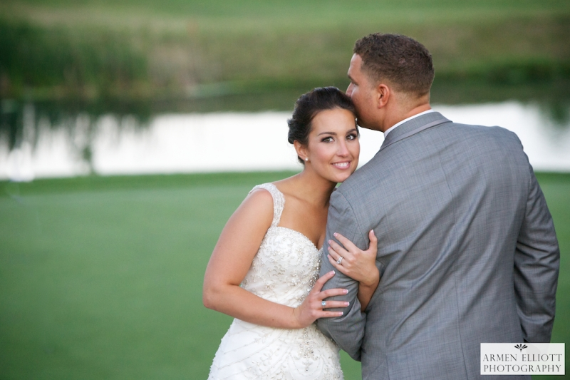 wedding couple at La Massaria Bella Vista by Armen Elliott Photography