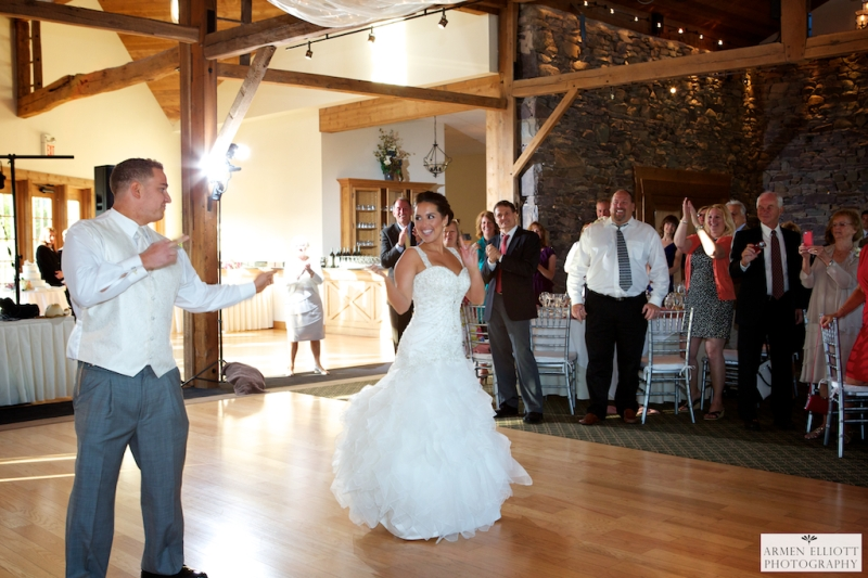 First Dance photo at La Massaria Bella Vista by Armen Elliott Photography