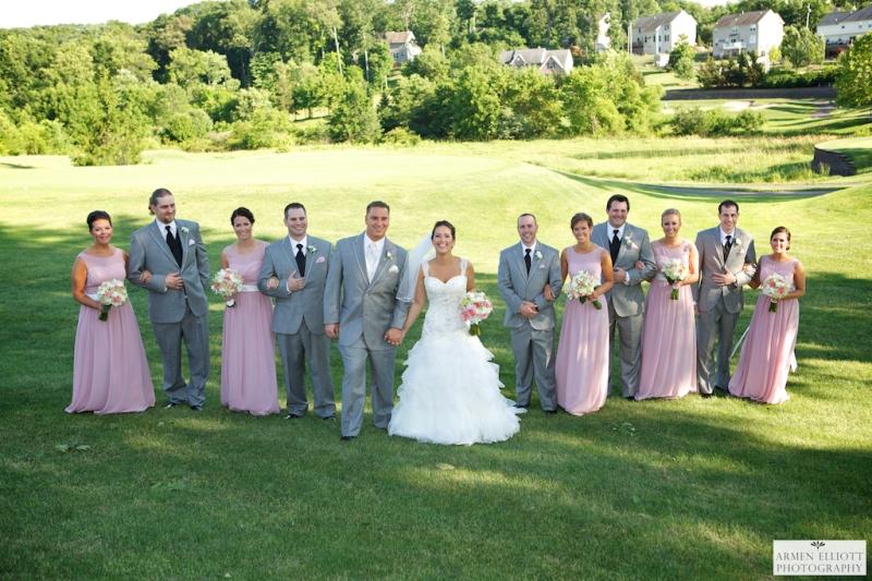 Wedding party at La Massaria Bella Vista by Armen Elliott Photography