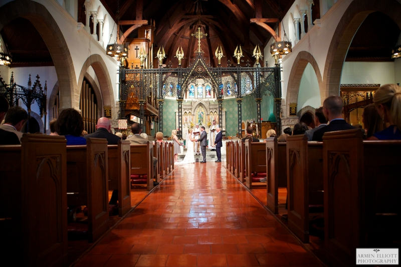 Cathedral Church of the Nativity wedding photo by Armen Elliott Photography