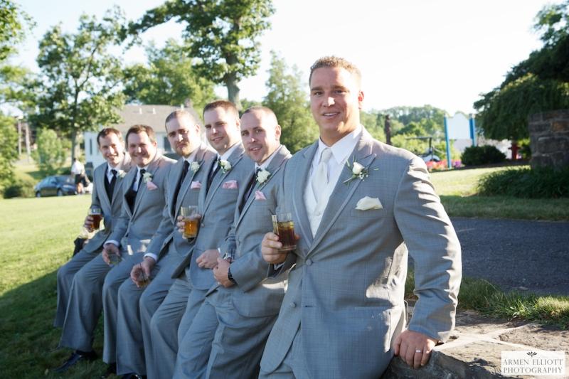 Wedding photo at La Massaria Bella Vista by Armen Elliott Photography