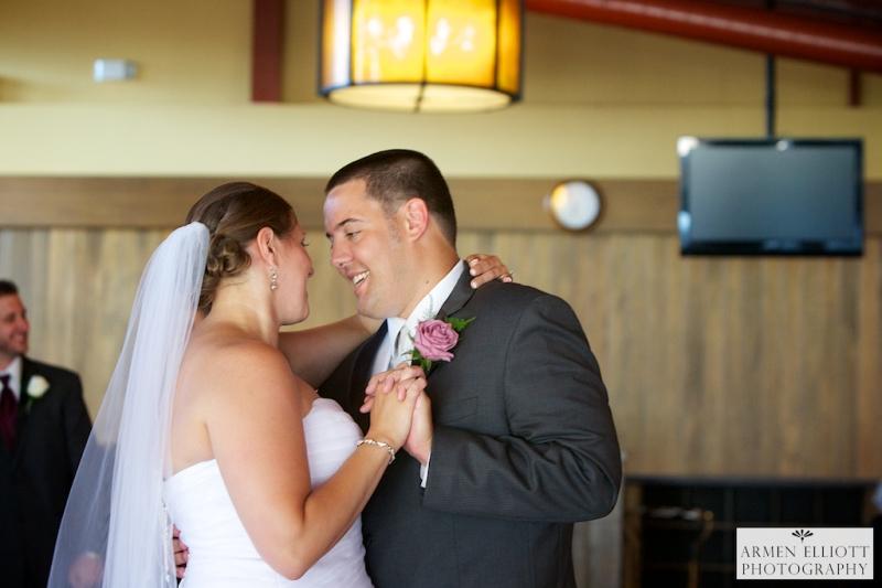 Wedding at Bear Creek Resort First dance by Armen Elliott