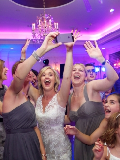 wedding reception photo at Blue Event center by Armen elliott