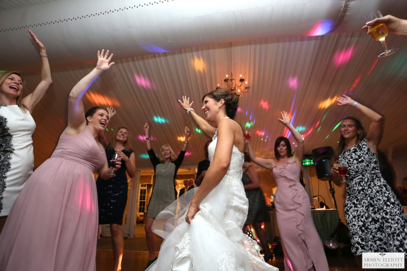Wedding photo of reception at The Club at Morgan Hill by Armen Elliottorgan Hill