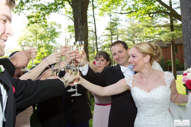 Woodloch wedding in Hawley PA
