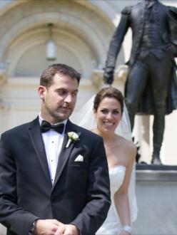 Lehigh Valley Wedding First Look Armen Elliott Photography