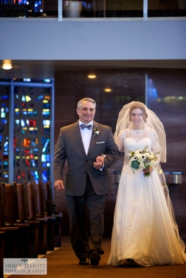 wedding photos at St Thomas More Church in Allentown by Armen Elliott
