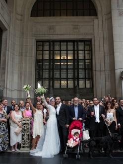 NYC wedding at St Illuminator Armenian Church by Armen Elliott Photography