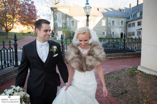 Historic Bethlehem wedding by Armen Elliott