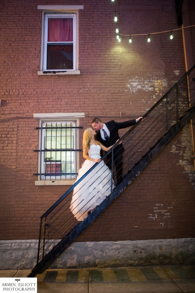 Bank Street Annex wedding photo by Armen Elliott