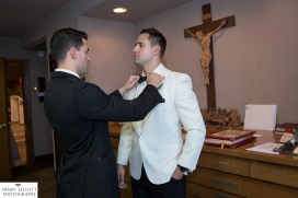 St Mary's RC Church wedding NJ©Armen Elliott