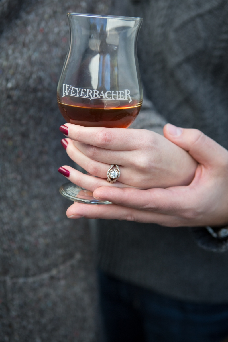 Weyerbacher Brewing Company Engagement Session ©Armen Elliott Photography
