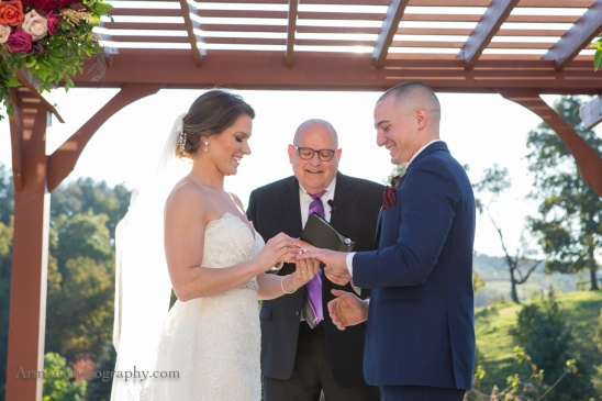 Glasbern Inn Wedding ceremony _Armen_Elliott_Photography