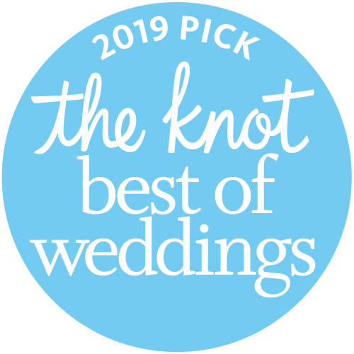 The Knot 2019 best of weddings award for Armen Elliott Photography